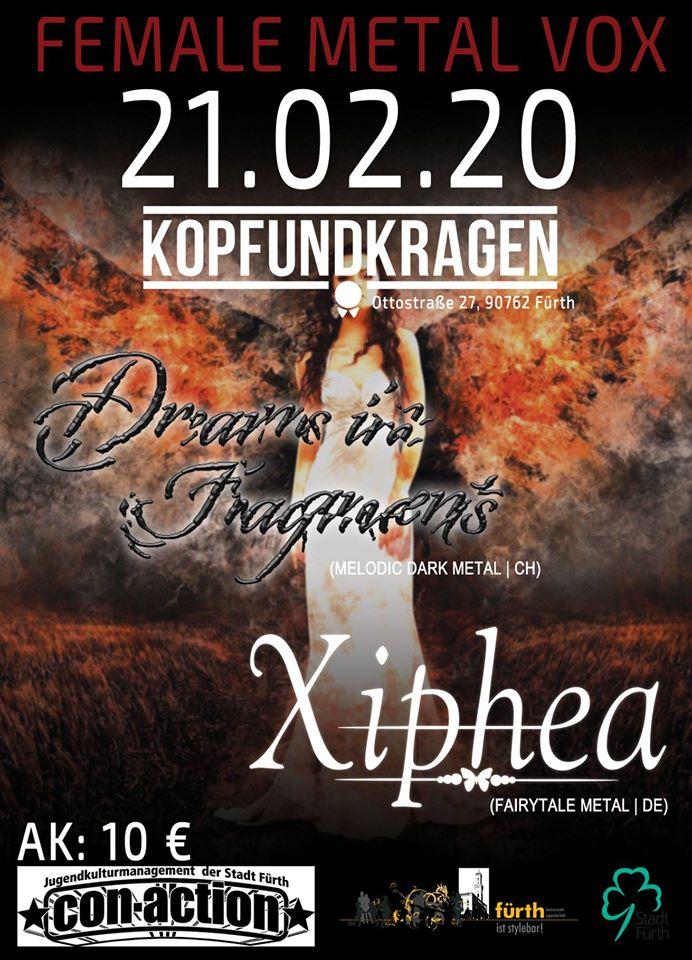 Dreams in Fragments & Xiphea