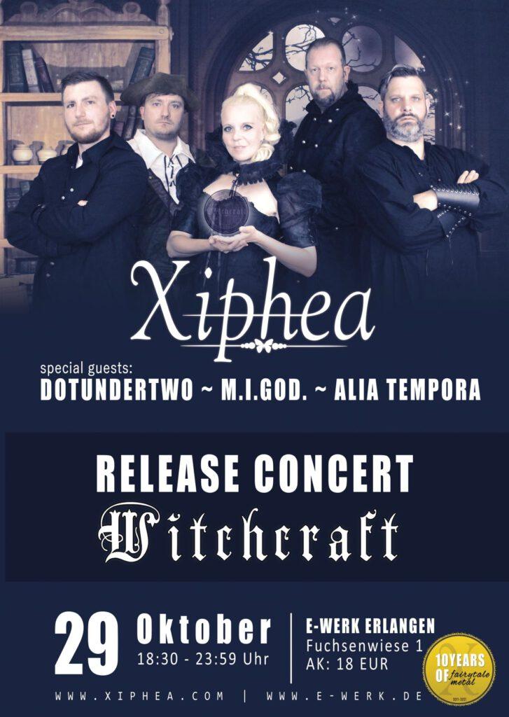 Xiphea Release Concert Witchcraft