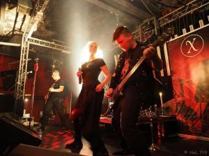 Fairymetal Night Nürnberg Xiphea Neil, Sabine & Michael